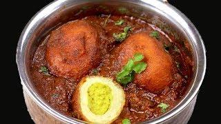 बिना अंडे के बनाये अंडा करी स्वाद उँगलियाँ चाटने को मजबूर कर देगा | Anda masala gravy eggless recipe