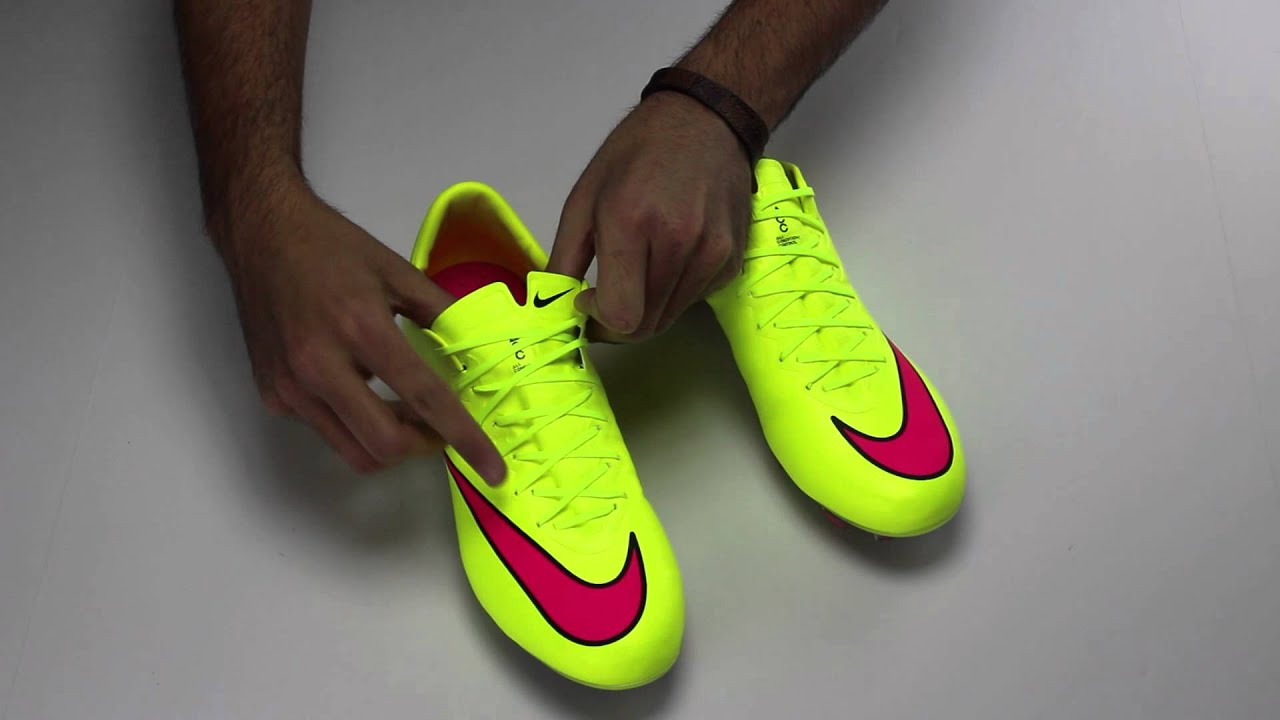 50% price new product outlet store sale Nike Mercurial Vapor X FG Soccer Cleats - Volt and Pink Review