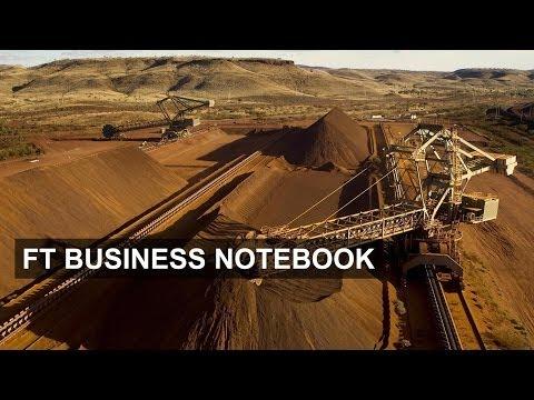 Fall in iron ore price hits Australia