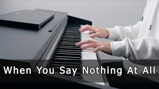 Download Lagu When You Say Nothing At All (Piano Cover by Riyandi Kusuma) mp3