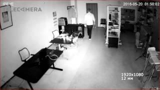 Тестовая видеозапись с IP-камеры IPEYE-B4-SUNR-2.8-12-01