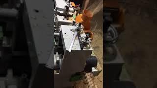 High speed wood dowel machine