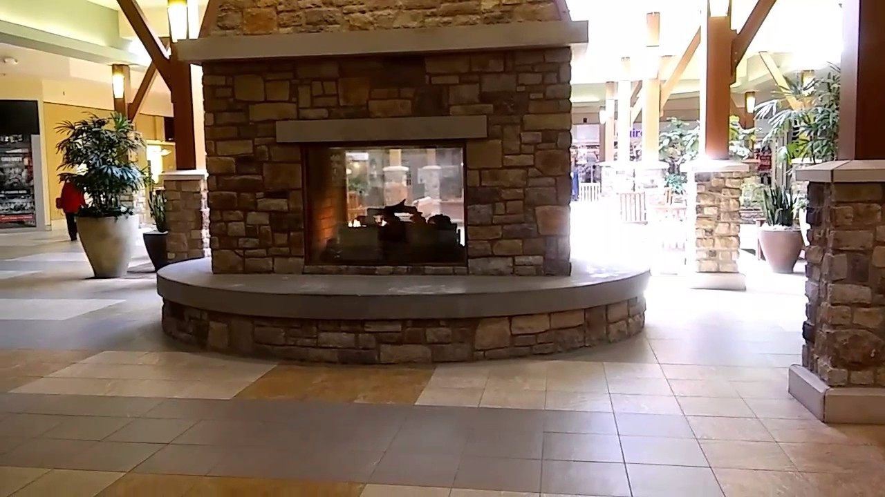 New River Valley Mall Fireplace - YouTube