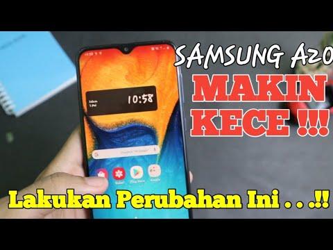 Samsung A20 Makin Kece : Ganti Font , Ganti Thema , Ganti Tampilan Dll