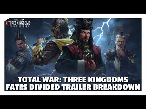 Total War: Three Kingdoms Fates Divided DLC Trailer Breakdown |