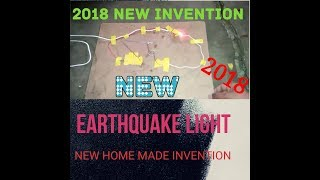 how to make a earthquake light | 2018 new invention
