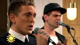 """Danny Saucedo - """"Såsom i himlen"""" - Nyhetsmorgon (TV4)"""