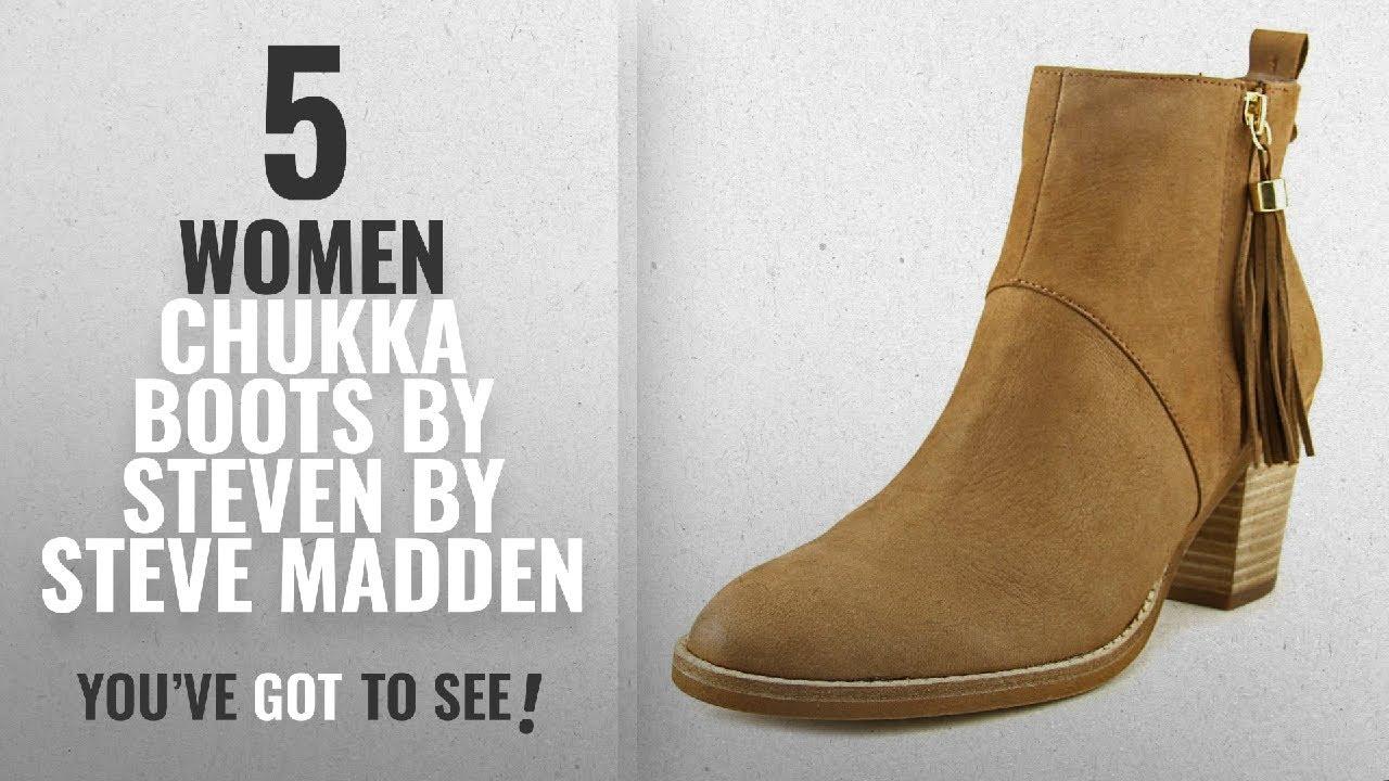 137c3f521b34f Top 10 Steven By Steve Madden Women Chukka Boots [2018]: Steven Women's  Beti Brown Nubuck Boot