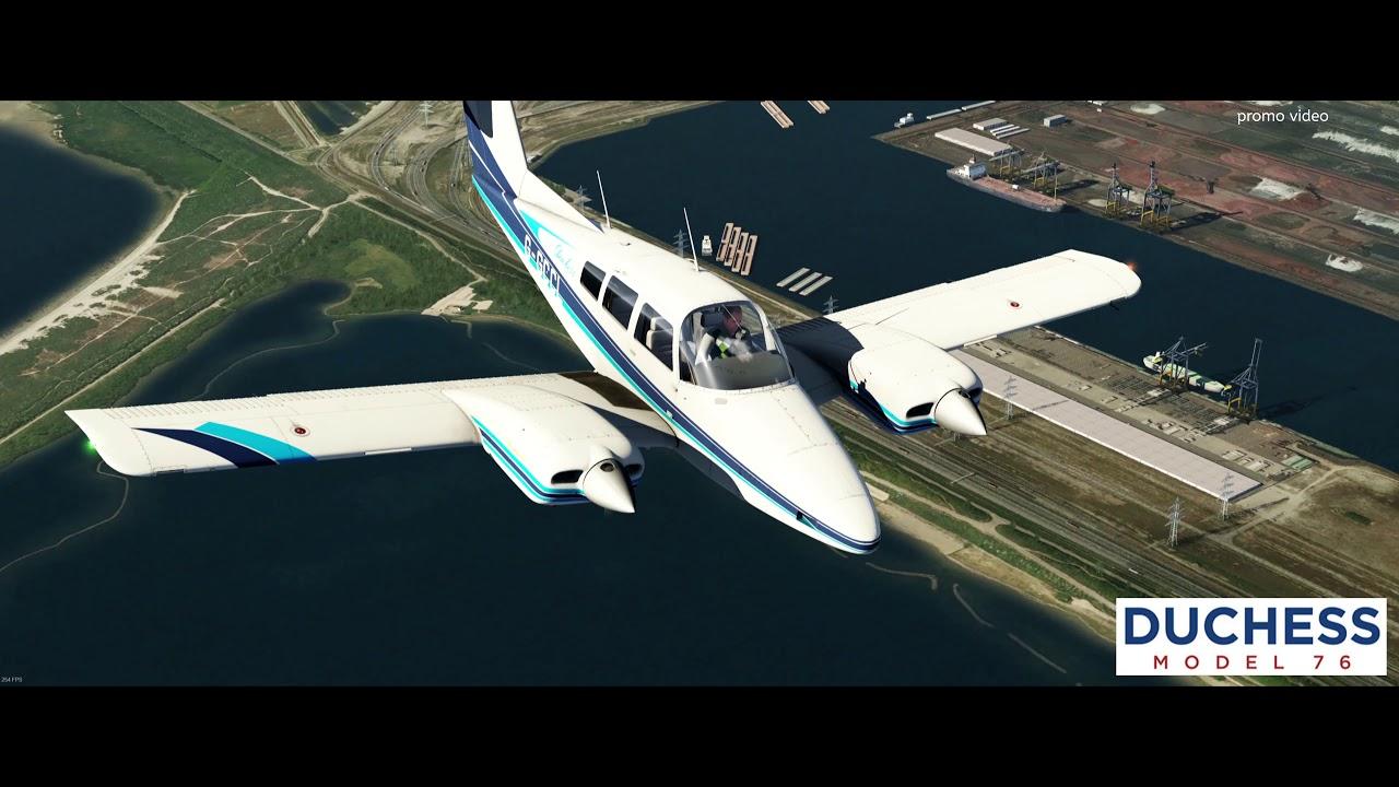 Just Flight - Duchess Model 76 (for Aerofly FS 2)