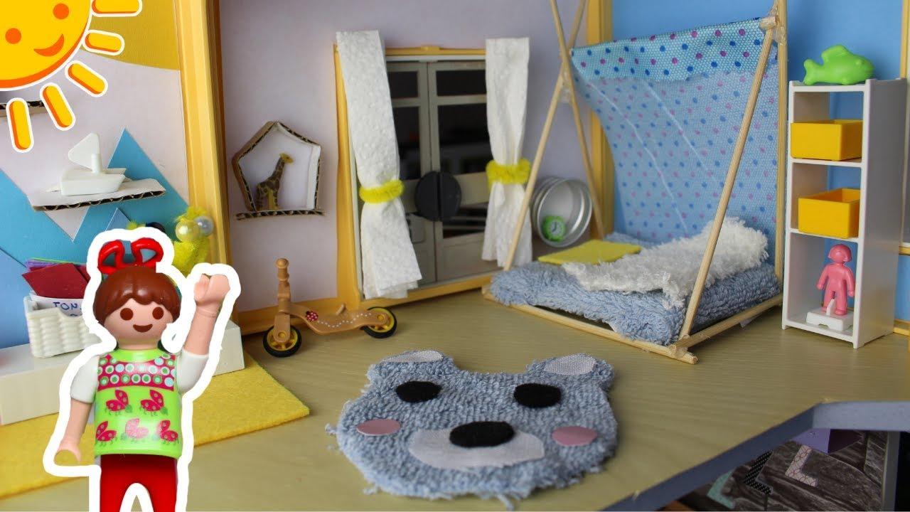playmobil kinderzimmer f r luise pimp my playmobil dollhouse diys for kids familie