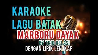 Karaoke Marboru Dayak