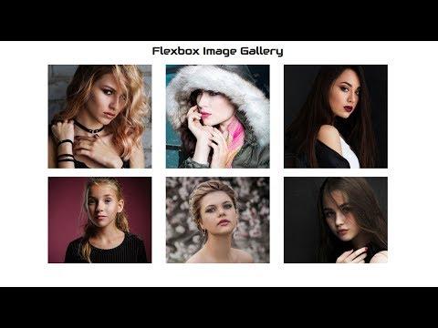 Responsive Image Gallery Using Flexbox | Simple Image Gallery | Beginners Tutorial
