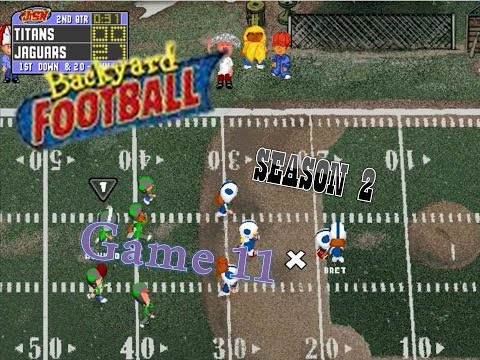 Backyard Football 1999 (PC) (SEASON 2) Game 11: Teen Titans Throwdown