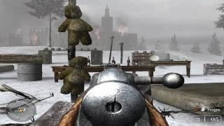 """Call of Duty 2 [EN ESPAÑOL] Misión 1: """"Instrucción del Ejército Rojo"""" HD"""