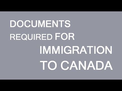 What documents are required for immigration