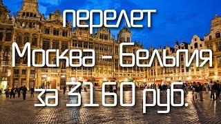 видео ДЕШЕВЫЕ авиабилеты в Бельгию | Распродажа авиа билетов в  Бельгию | Спецпредложения авиакомпаний