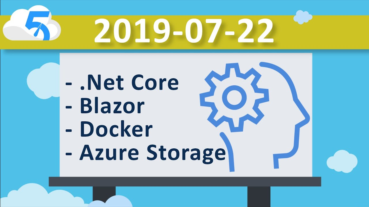 2019-07-22 (VOD) Learning Blazor on Linux running SKD in a Docker Container