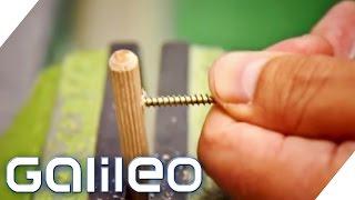 Superschrauben auf der Spur - Geheimnisse der Schrauben-Herstellung | Galileo | ProSieben