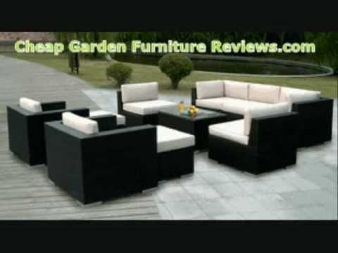 Garden Furniture Ohana Outdoor Patio Wicker Furniture 12pcs.wmv