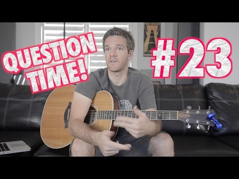 Question Time! Original Music, Skype Lessons and Gary Clark Jr.