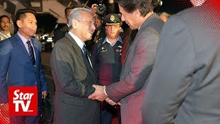 PM arrives in Islamabad for three-day visit thumbnail