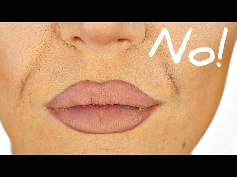 How To Stop Foundation Creasing In Smile Lines Easy Trick Youtube
