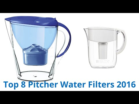 8 Best Pitcher Water Filters 2016