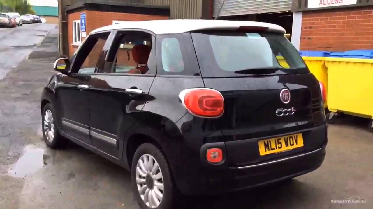 FIAT 500L MULTIJET POP STAR BLACKWHITE 2015  YouTube