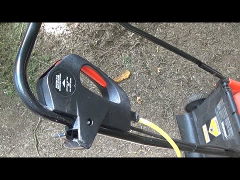 How To Replace A Black & Decker Electirc Mower Start Switch