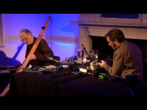 Embedded: Max Eastley & Paul Whitty Live