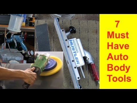 7 Must Have Auto Body Tools To Get Started in Auto Body Repair