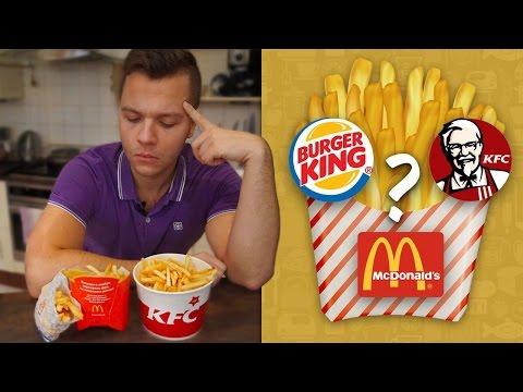 ГДЕ ЛУЧШАЯ КАРТОШКА ФРИ? Макдональдс / KFC / Burger King