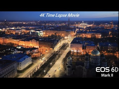 4K Time Lapse in the EOS 6D Mark II Digital Camera