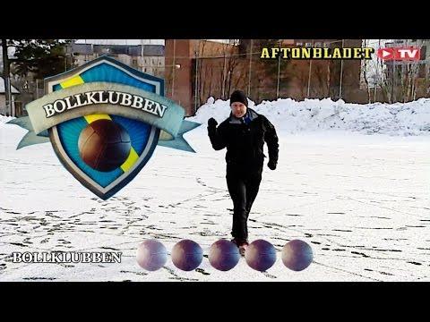 Robert Laul utmanar allsvenska-spelarna i Bollklubben