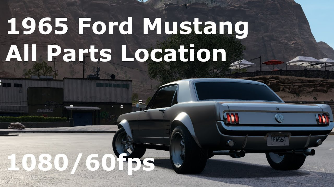 Need For Speed Payback Ford Mustang Derelict Parts Location Guide