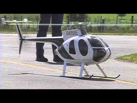 Jet Turbine Powered RC Model Helicopter Huges 500E DRONES FOR SALE UAVDronesForSale