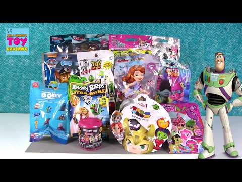 Trolls Barbie MH Fashems Disney Tsum Tsum Blind Bag Opening   PSToyReviews