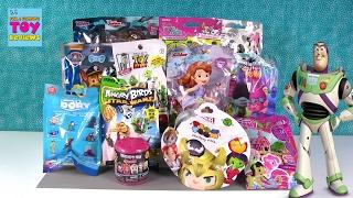 Trolls Barbie MH Fashems Disney Tsum Tsum Blind Bag Opening | PSToyReviews