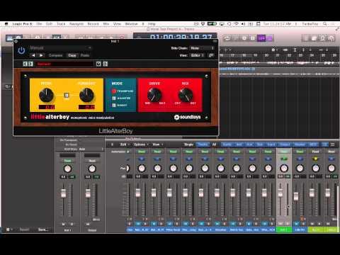 Little AlterBoy MIDI Pitch Control in Logic X