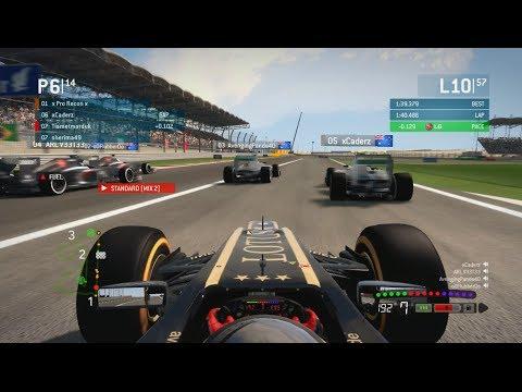F1 2013 Crazy League Race! Bahrain 100% Online