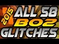 2015 All 58 Unpatched Black Ops 2 Glitches Solo, Online, Working Glitches on All Maps