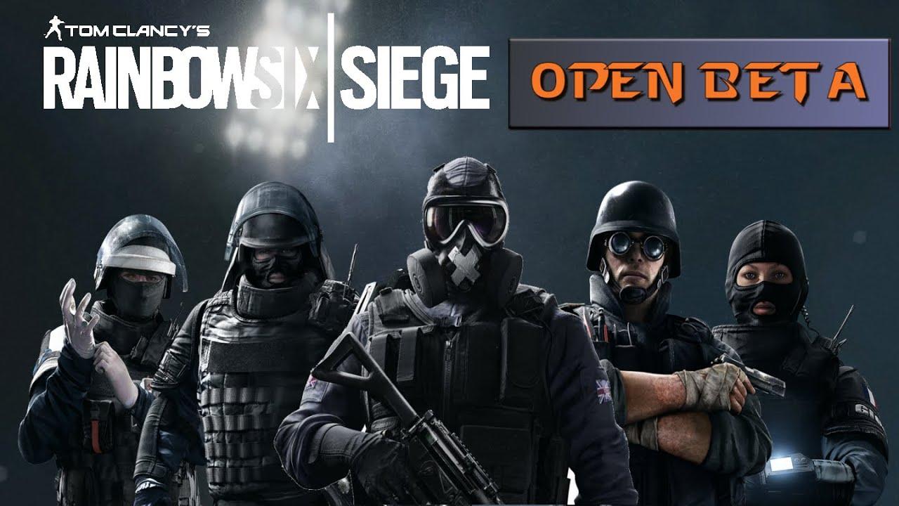 Open Beta Rainbow Six Siege