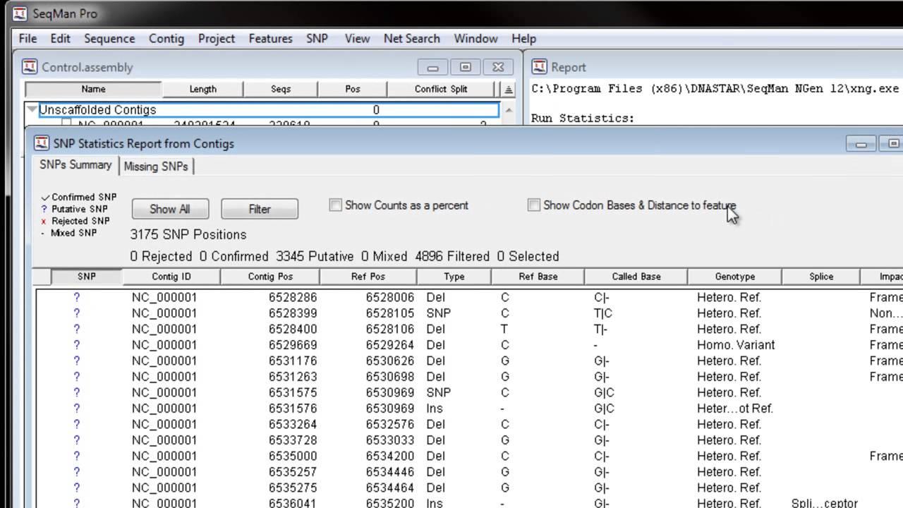 Make a custom VCF file - User Guide to SeqMan NGen - 16 0