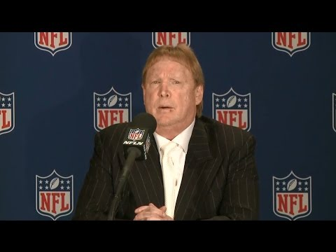 Raw Video: Raiders Owner Mark Davis After NFL Approves Vegas Move
