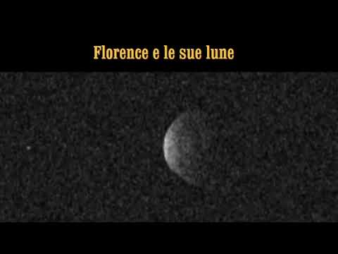 LE LUNE DELL'ASTEROIDE FLORENCE - RADAR REVEALS TWO MOONS ORBITING ASTEROID FLORENCE