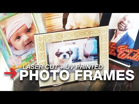 Laser Cut Photo Frames | Custom Picture Frames | Speedy 400
