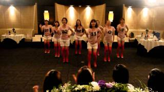 サークル仲間で盛り上げるダンス