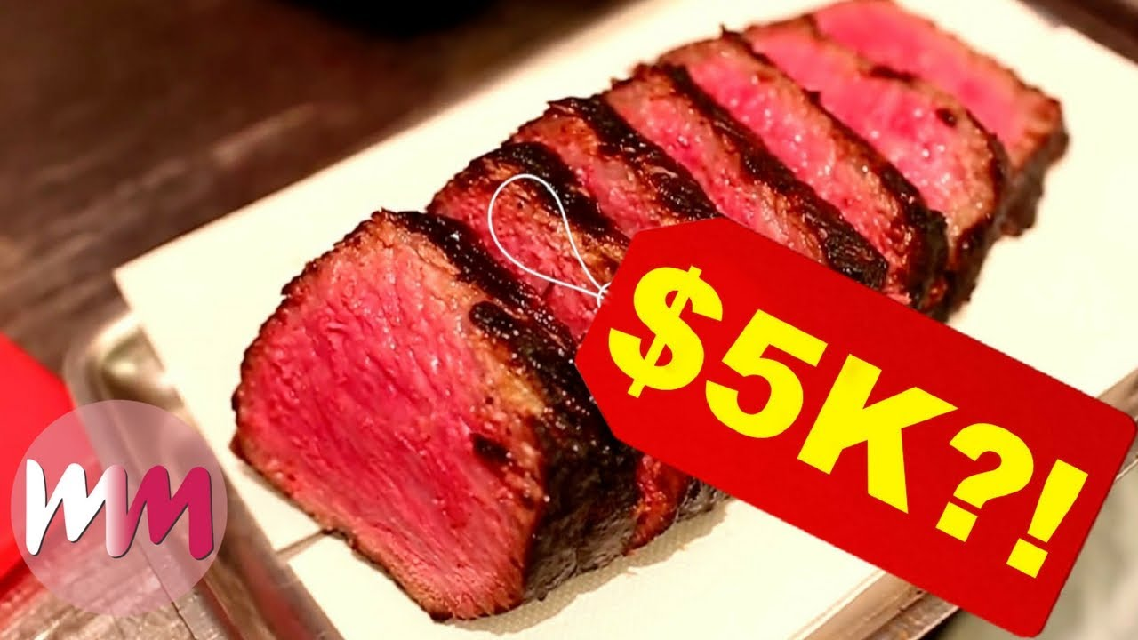 The most expensive delicacies in the world