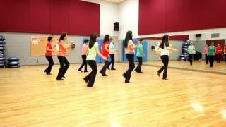 Kiss The Sky - Line Dance (Dance & Teach in English & 中文)