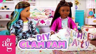 @American Girl Doll Crafts   Harper & Emma's ULTIMATE Game Night Sleepover Plan!